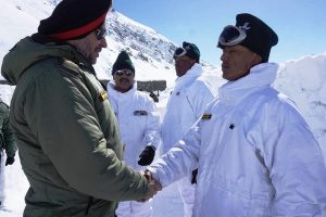 Northern Army Commander visits LoC in Ladakh