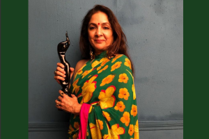 National Award winning actor Neena Gupta bags her first FilmFare for Best Actor