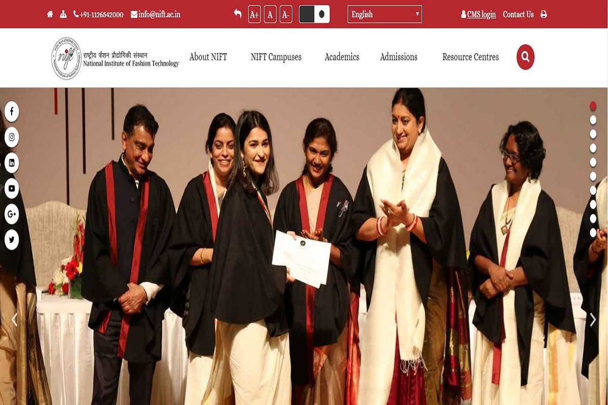 NIFT results, National Institute of Fashion Technology, NIFT Entrance exam 2019 results, nift.ac.in