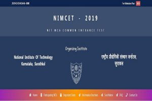 NIMCET 2019: Application process starts at nimcet.in, check all important details here