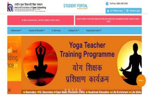 NIOS hall ticket for class 10 and 12 released at sdmis.nios.ac.in | Download now