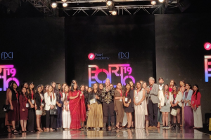 Pearl Academy students showcase collections at Lotus India Fashion Week 2019