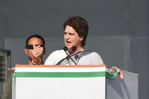 Creating media blitz by repeating $5trillion everyday will not trigger economic reforms: Priyanka Gandhi Vadra
