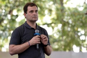 Rahul's session at Stella Maris questioned when Model Code of Conduct is in place