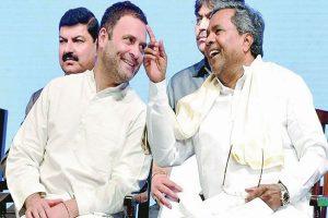 Siddaramaiah urges 'next PM' Rahul Gandhi to contest Lok Sabha polls from Karnataka