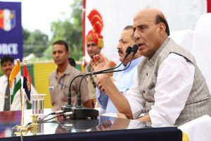 Were trees using 300 mobiles? Rajnath tells oppn to go to Pak, count bodies of terrorists killed in Balakot