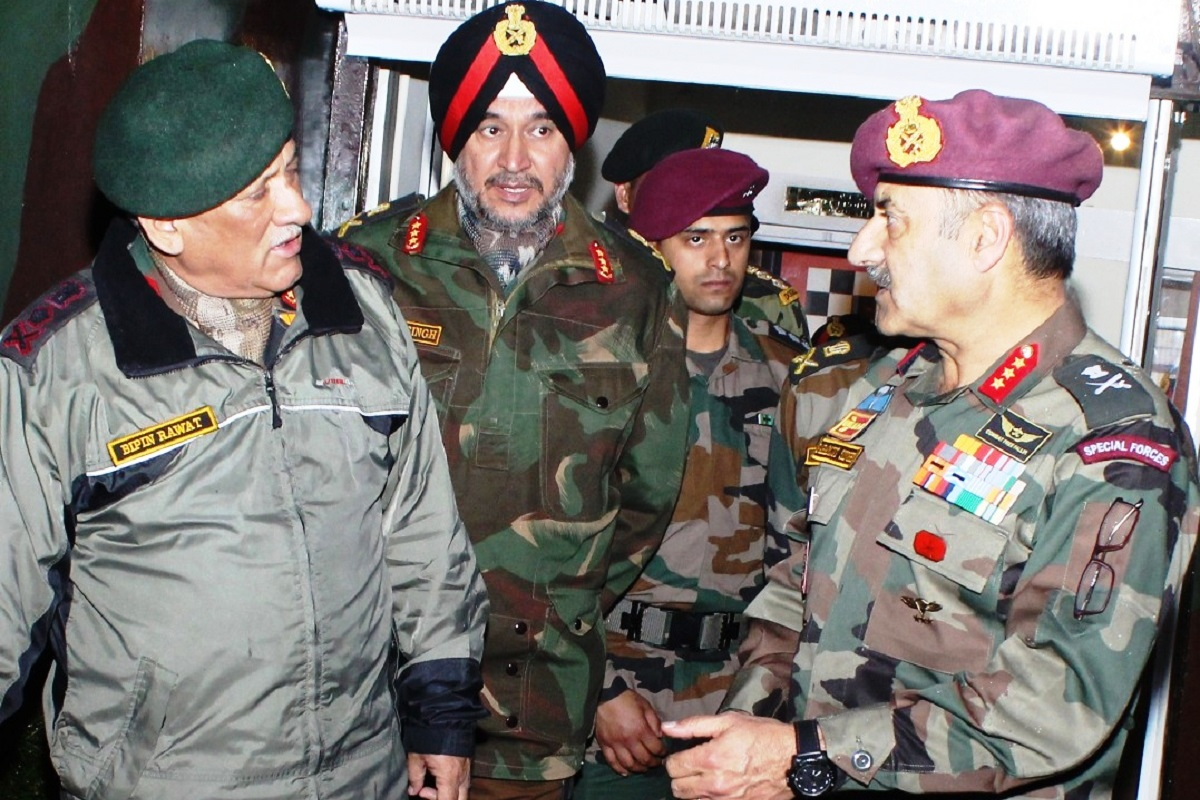 Army chief, LOC, Jammu, General Bipin Rawat, Line of Control, Pakistan, Indian Army, White Knight Corps, International Border