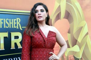 Writing a book is challenging: Richa Chadha