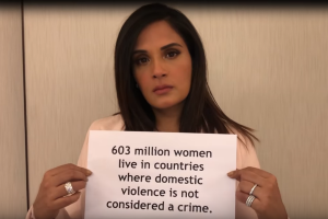 Women's Day: Watch Richa Chadha raise women's rights with Grammy Award winners