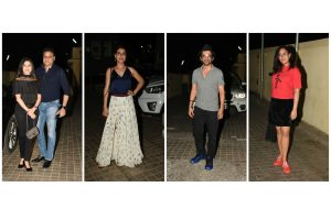 Bollywood celebrities attend Mard ko Dard Nahi Hota special screening