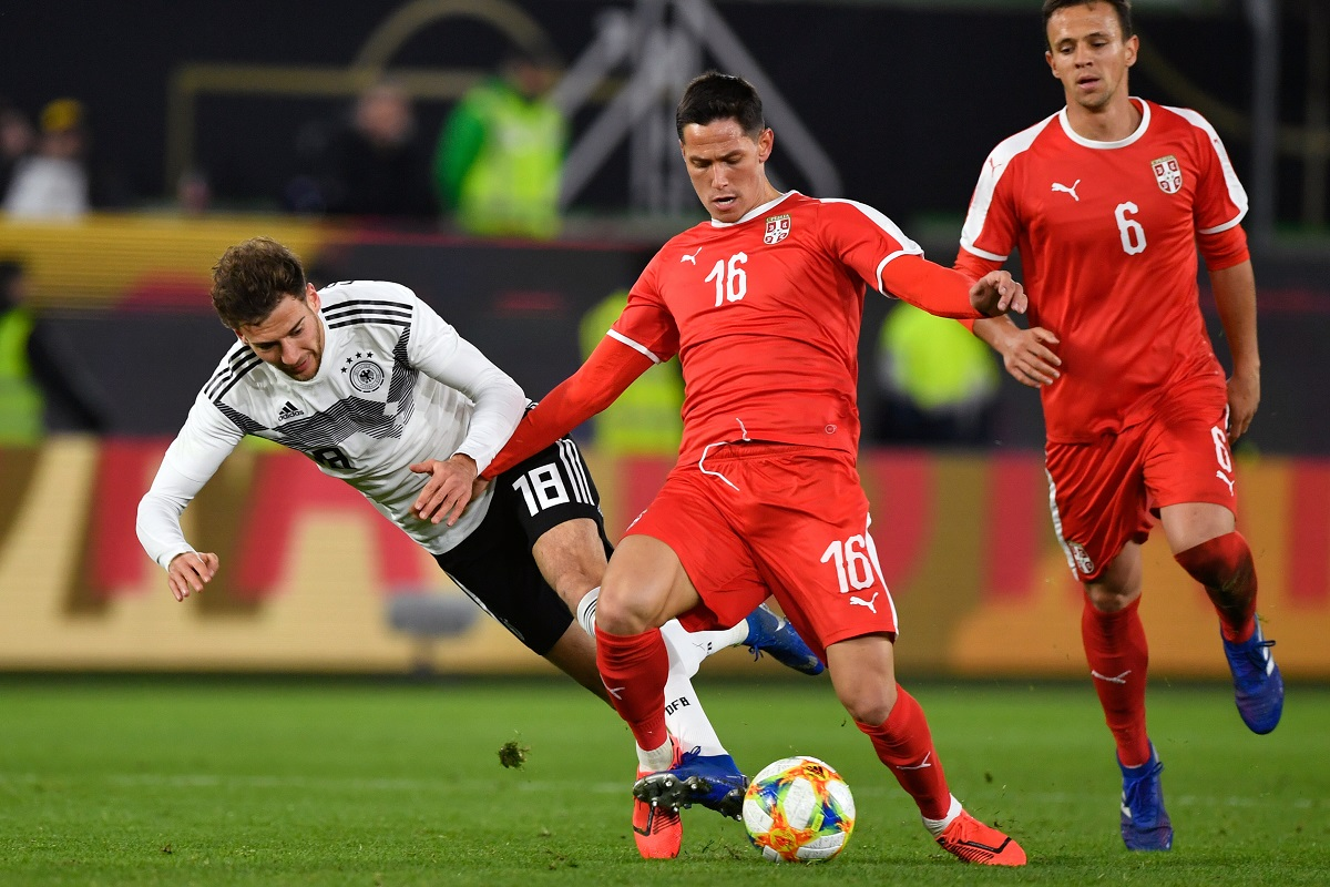Germany, Serbia, Leon Goretzka, UEFA Euro 2020, Luka Jovic, Sports, Football
