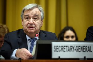 Guterres hasn't spoken to India, Pakistan PMs, but other leaders