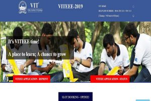 VITEEE 2019: Slot booking starts at vit.ac.in, direct link available here