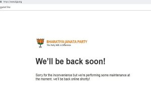BJP website bjp.org down after alleged hacking attempt; memes targeted at PM Modi