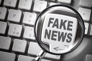 Police crackdown on fake news