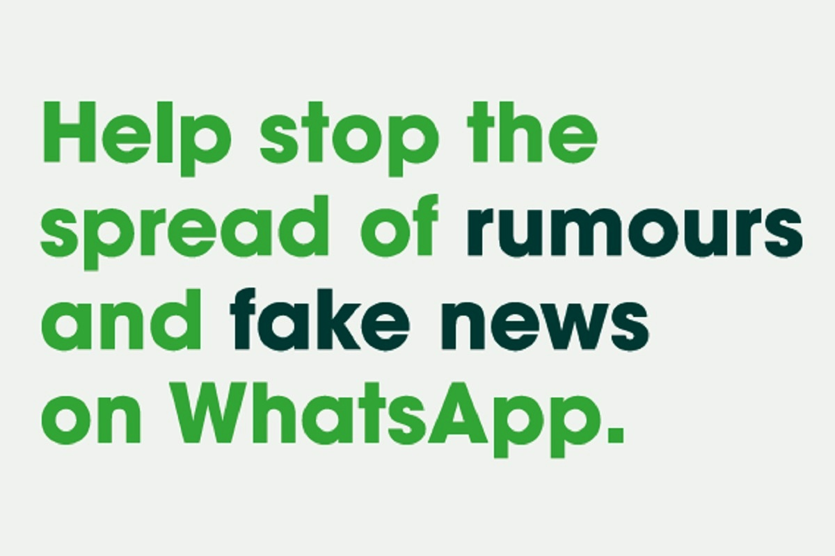 Share Joy Not Rumors, WhatsApp, Lok Sabha elections 2019, Lok Sabha elections, Fake news