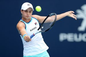 Barty displays all-around game, captures Miami Open