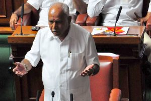 Claims fake, planted by Congress for poll gains: Yeddyurappa on Rs 1,800 payoffs charge