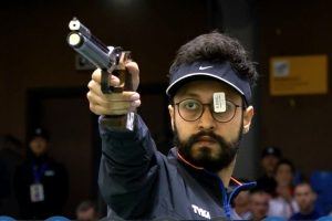 ISSF WC: Abhishek Verma clinches gold, Olympic quota