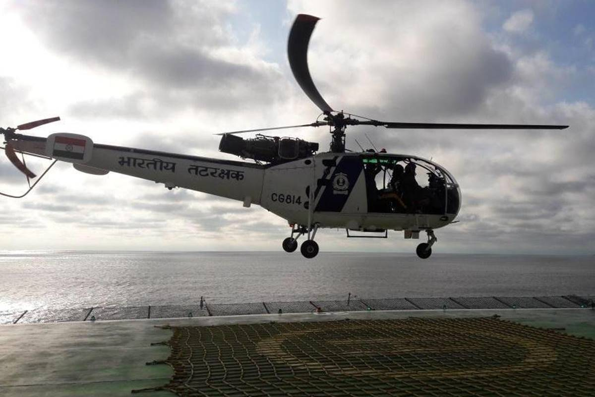 Indian Coast Guard, AdvancedLight Helicopters, ALHs, Bay of Bengal, North-East Region, North-East, ICG DG Rajendra Singh, coastal security network