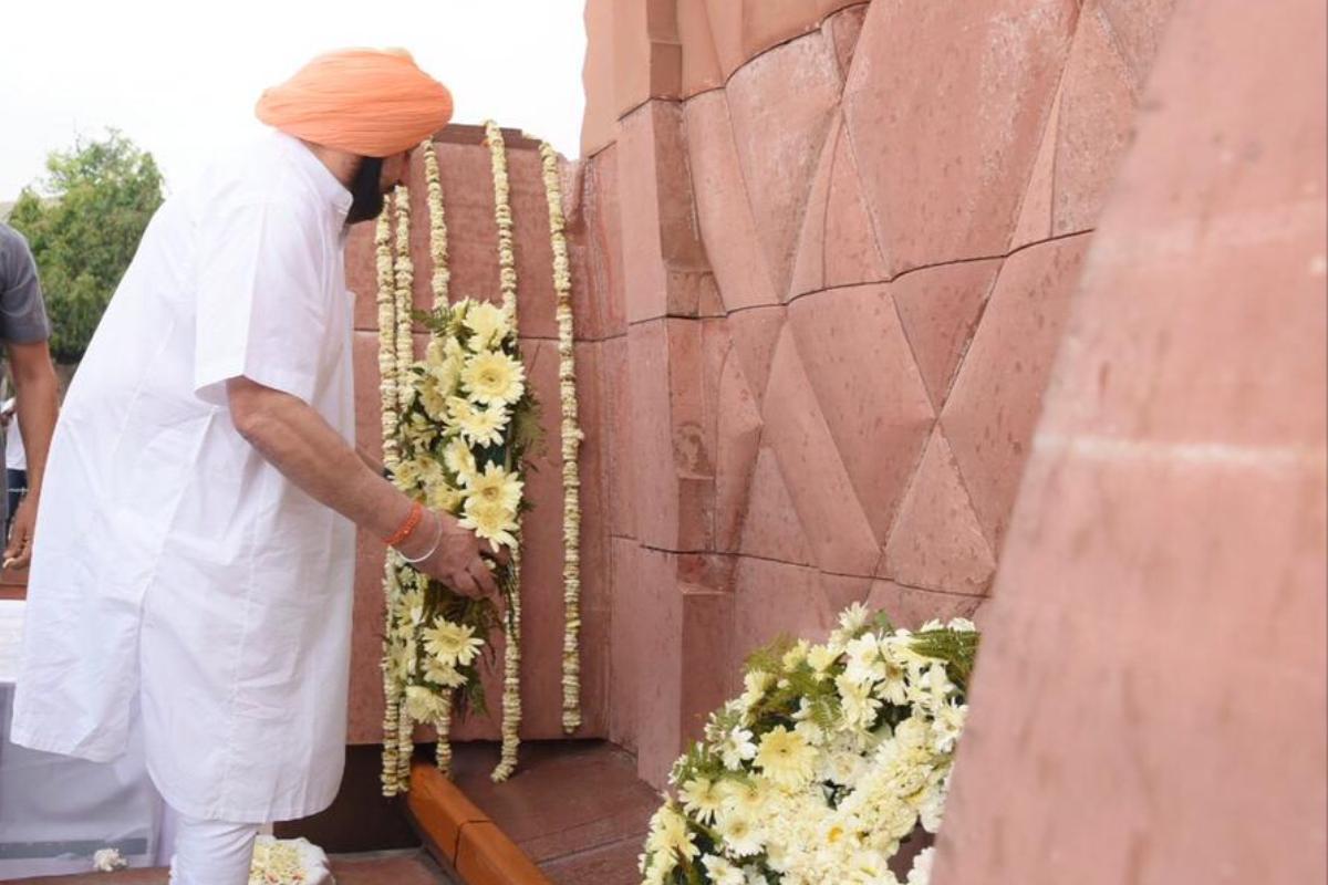 Narendra Modi, Amarinder Singh, Punjab CM, Jallianwalla Bagh