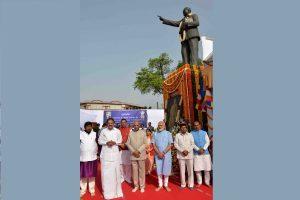 President Kovind, PM Modi pay tributes to Bhimrao Ambedkar on 128th birth anniversary