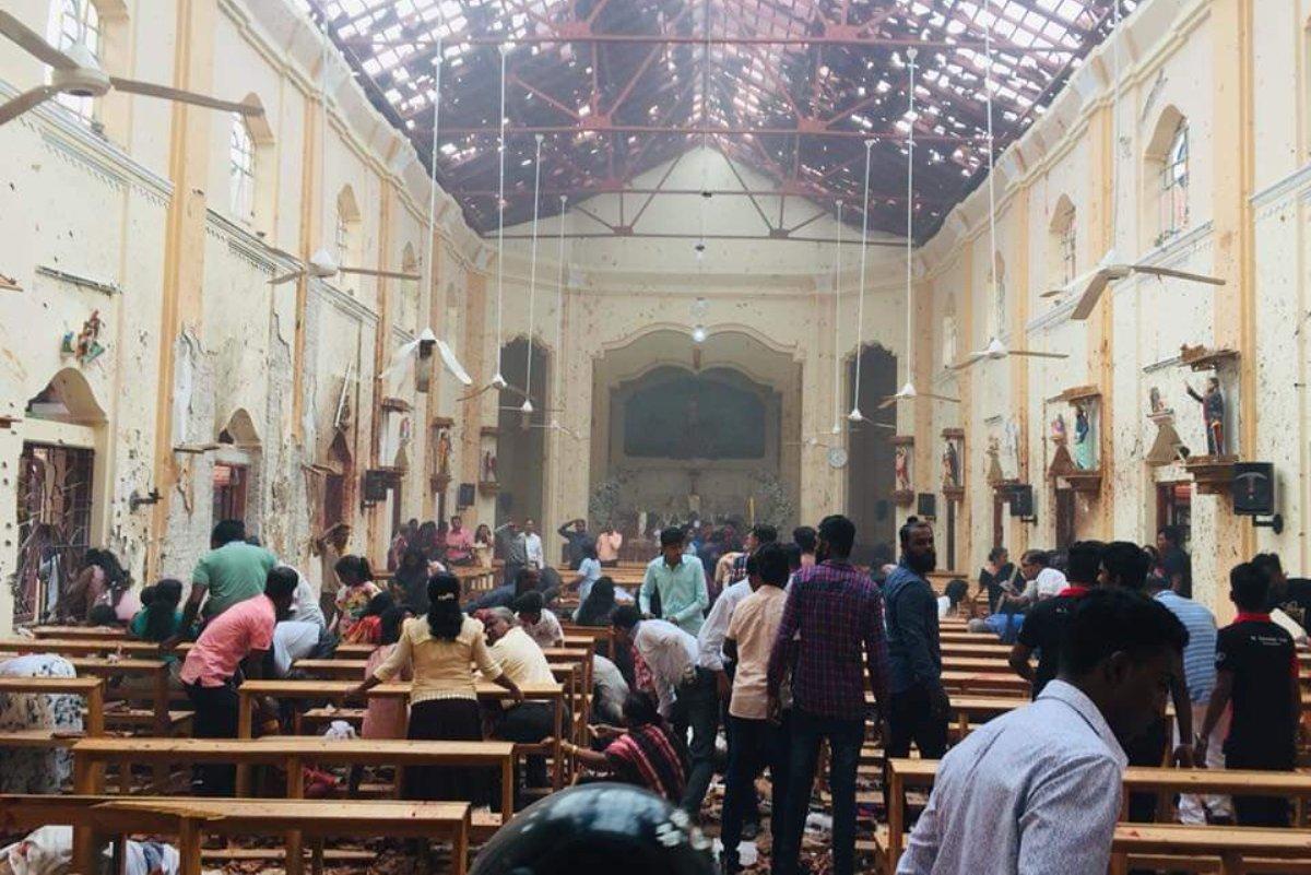 Explosions, Sri Lanka, Church, Hotel, Colombo