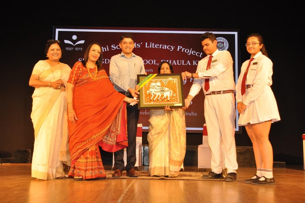 Springdales School, Delhi School Literacy Project, Springdales School Dhaula Kuan, Amit Kataria