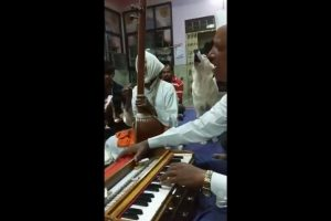 This video of a dog 'singing' Kirtan with devotees in a temple has left people spellbound