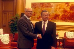 Vijay Gokhale meets Chinese officials, asks Beijing to be sensitive to India's concerns