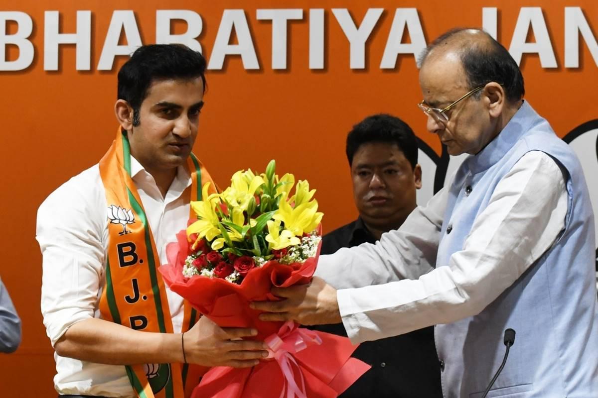 Gautam Gambhir BJP, Delhi BJP, Gautam Gambhir, East Delhi constituency, Meenakshi Lekhi, Atishi, Arvinder Singh Lovely