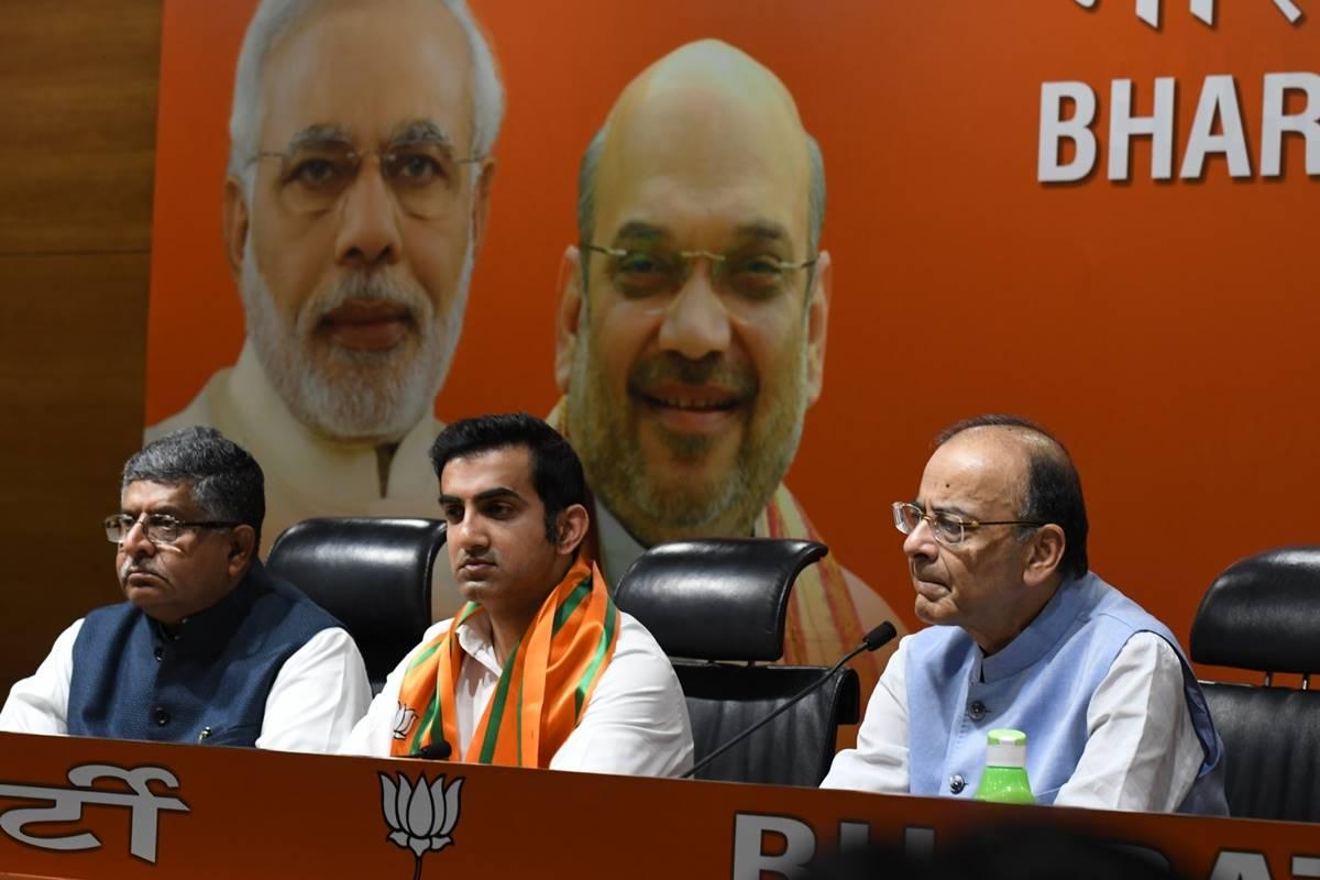 Gautam Gambhir, BJP, New Delhi constituency, BJP central leadership, Meenakshi Lekhi