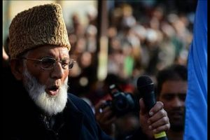 Geelani asks UN, OIC, Pakistan to rescue Uighur Muslims in China