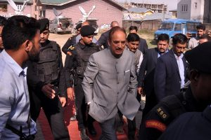 Azad says terror attacks on security forces increased during Modi government
