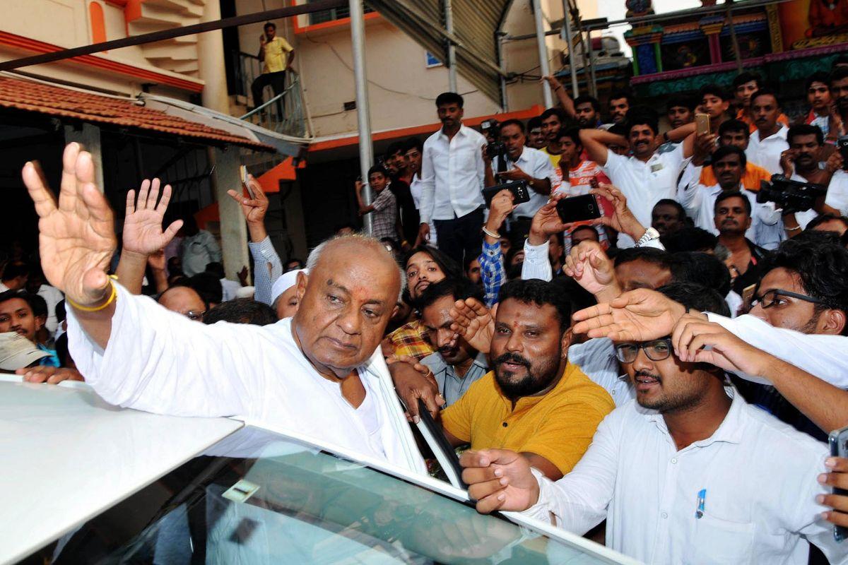 Karnataka LS polls, Gowda family, Mandya, Hasan, Tumakuru, HD Deve Gowda, Elections 2019, Lok Sabha Elections 2019