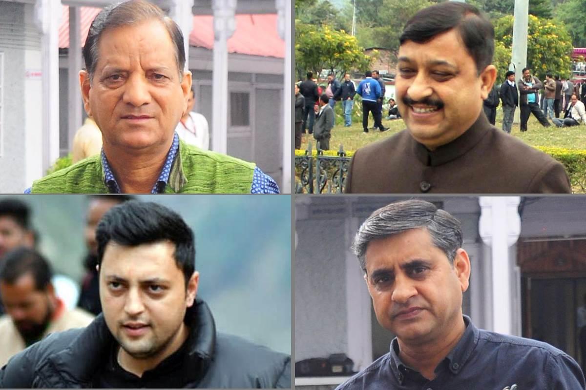 four Himachal Lok Sabha seats, Himachal Lok Sabha seats, Himachal Pradesh, Lok Sabha Elections 2019, Elections 2019, Pawan Kajal, Suresh Kashyap, Krishan Kapoor, Ashray Sharma, Mandi, Kangra, Shimla, Hamirpur