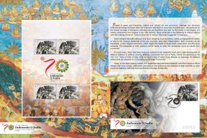 Indonesia releases special Ramayana stamp to celebrate ties with India