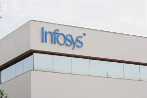 Infosys shares fell nearly 5 per cent post Q4 earning