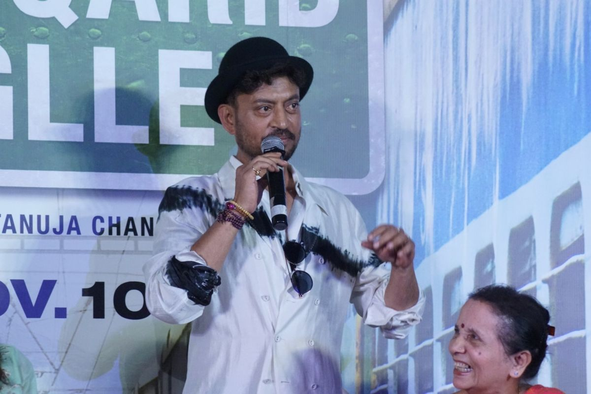 Actor Irrfan is back, writes an emotional note to friends and fans