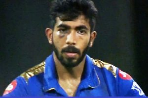 Jasprit Bumrah suffers another scare as ball hits eye