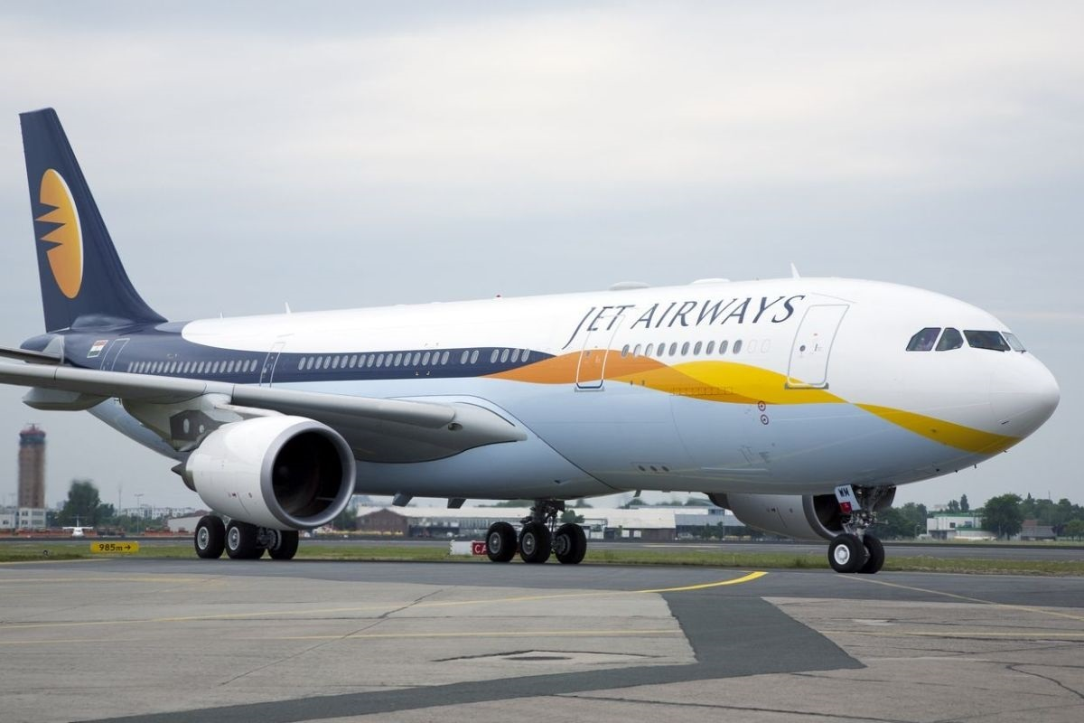 Jet Airways shares slumped 10 per cent