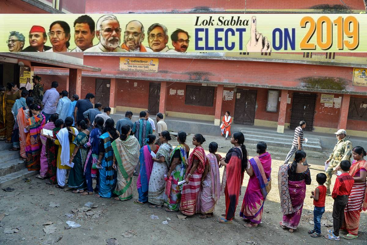 Lok Sabha elections 2019, Lok Sabha elections, Lok Sabha elections 2019 phase one, LS polls, 2019 elections, Elections 2019, 91 constituencies