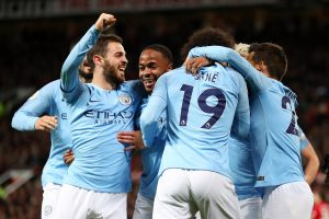 City top United 2-0, gain edge in title race