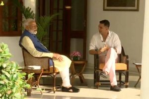 BJP, Congress cross swords over PM Modi interview to Akshay Kumar