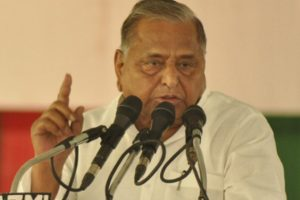 Mulayam Singh Yadav files nomination from Mainpuri, parries question on BSP