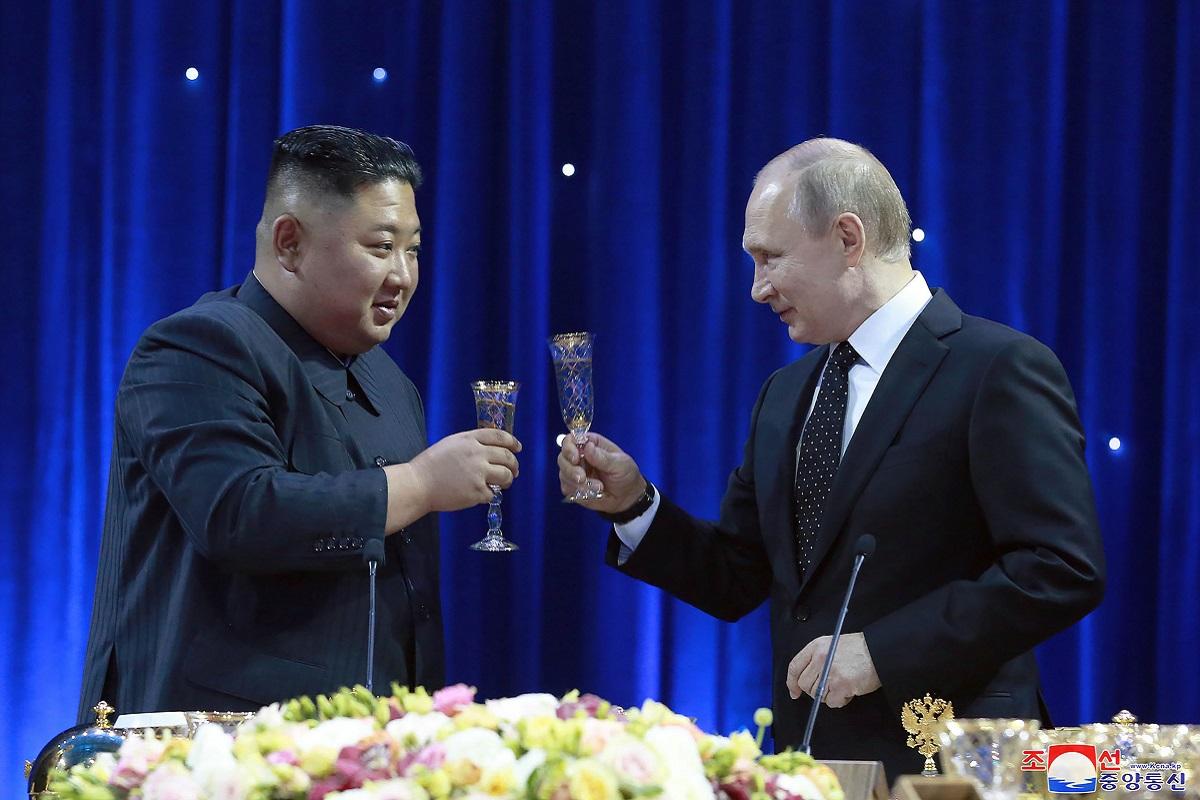 Kim Jong-un's summit with Putin, Kim Jong-un, Vladimir Putin, Russia, North Korea