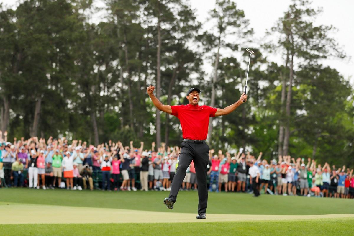 Tiger roars again, Tiger Woods, Augusta, Jack Nicklaus