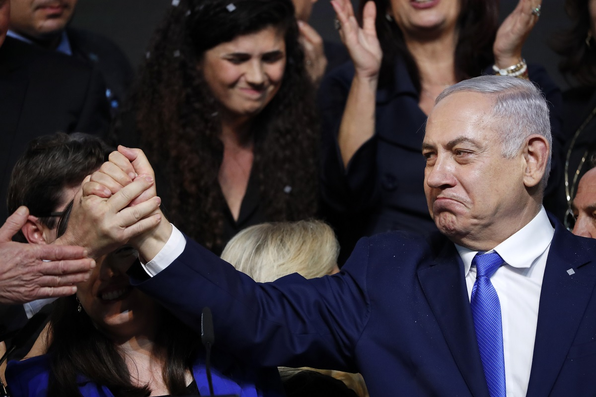 Oh Jerusalem, Israel, Benjamin Netanyahu, Palestine, Benny Gantz