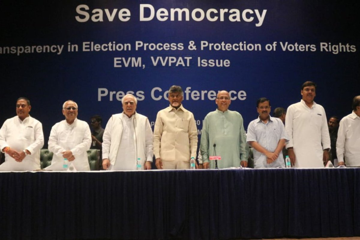 Opposition parties, Ballot paper, EVM, Supreme Court, Chandrababu Naidu