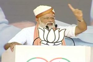PM Modi charges at Congress, NCP at joint BJP-Shiv Sena rally in Latur